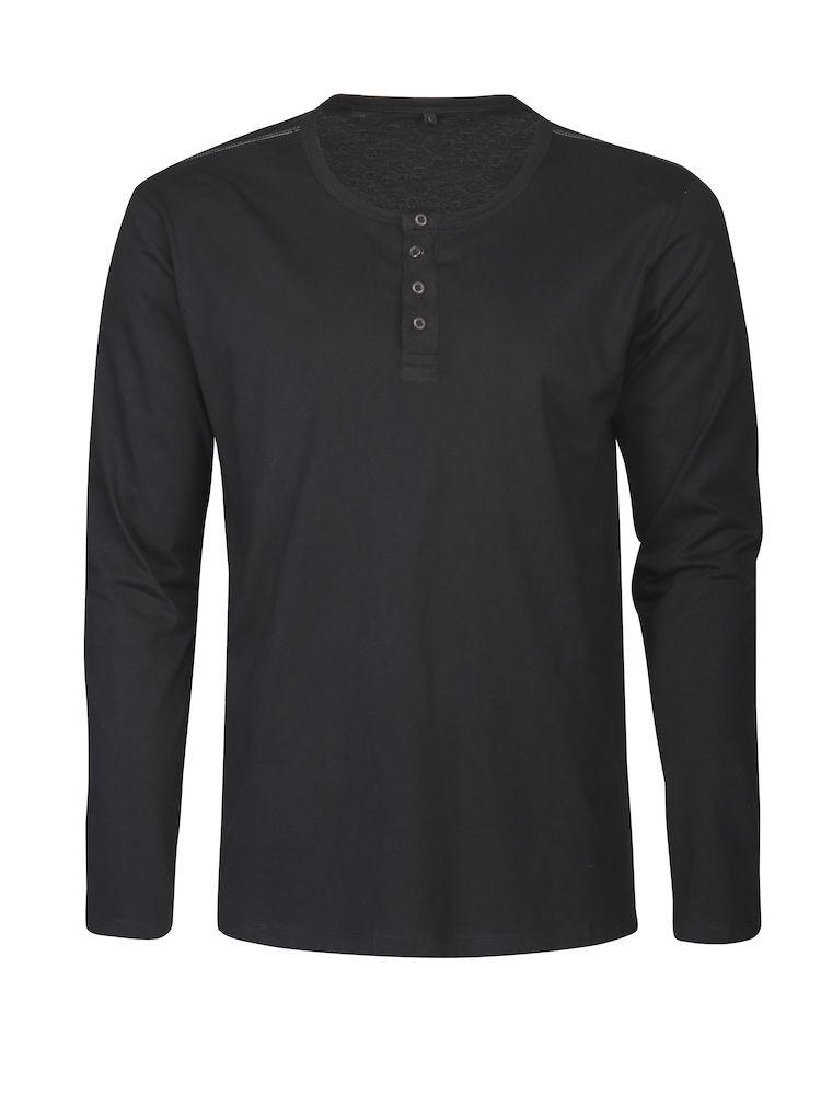 Organic shirt met bedrukking