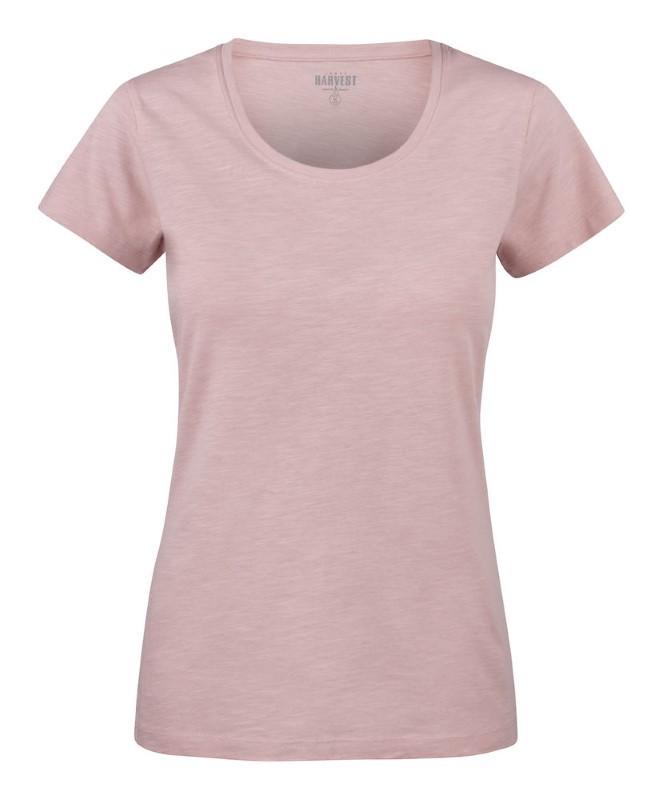 Dames T-shirt slub bedrukken