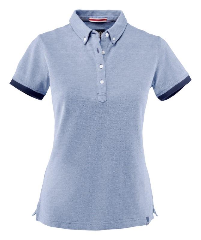 Bedrukt logo dames polo