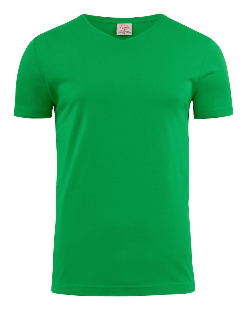 V-hals shirt van Printer bedrukken
