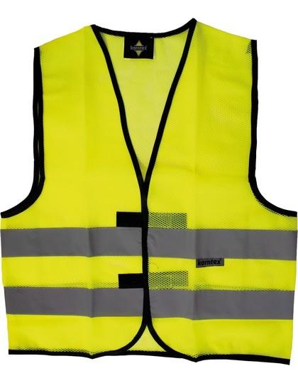 mesh veiligheidsvest geel