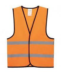 kinder veiligheidsvestje oranje